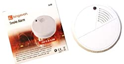 Battery Operated Mini Smoke Alarm Kingavon Caravan Home Shed Garage from HAMBLE