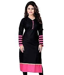 Success fashion Women's Cotton XXL Kurti Material (cotton_Freesize_ Multicolor )