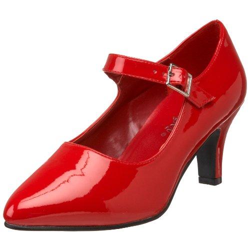 Pleaser Women'S Divine-440 Mary Jane Pump,Red Patent,11 M Us