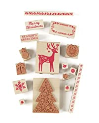Martha Stewart Crafts Scandinavian Wooden Stamp Set