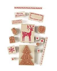 Martha Stewart Crafts Scandinavian Wooden Stamp Set