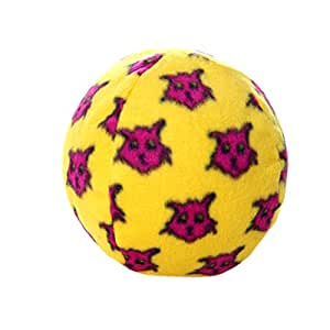 Mighty Ball Dog Toy, Large, Yellow