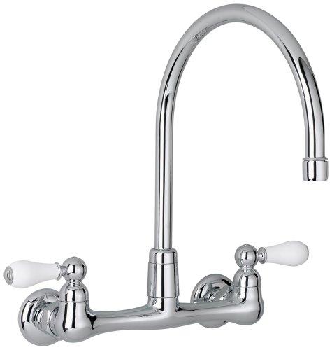 Standard Kitchen Sink : ... with Porcelain Lever Handles, Chrome (american standard kitchen sinks