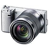 SONY ミラーレス一眼カメラ α NEX-5N ズームレンズキット シルバー NEX-5NK/S