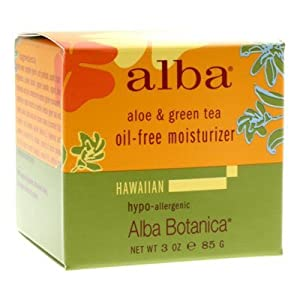 Hawaiian Oil Free Moisturizer Refining Aloe & Green Tea 3 oz  Lotion