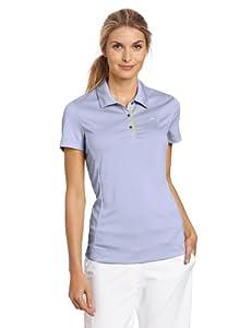 Puma Golf NA Women's Tech Short Sleeve Polo Tee, Persian Violet, X-Small