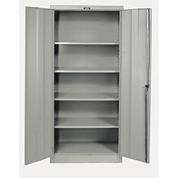 400 Series 2 Door Storage Cabinet Color: Hallowell Gray