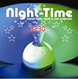 Night Time Mood Light, Clock & Star Projector
