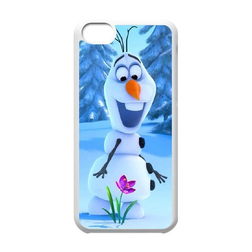 Cartoon disney frozen fever,snowman olaf, elsa and anna phone case cover For Iphone 5c LHSB9658231