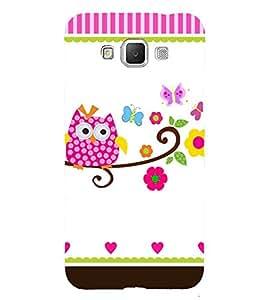 Owl Art 3D Hard Polycarbonate Designer Back Case Cover for Samsung Galaxy Grand 3 G720 :: Samsung Galaxy Grand Max G720