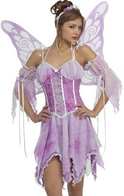 Sexy Xmas Costumes Purple Sugar Plum Fairy Costume S Womens U.S. Small (size 6-9)