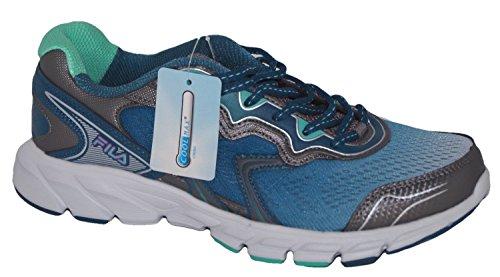 Fila Stellaray Women's Running Athletic Shoes, Size 7 (Turqoise/White)