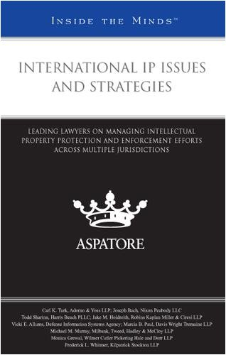 International IP Issues and Strategies: Leading Lawyers on Managing Intellectual Property Protection and Enforcement Eff