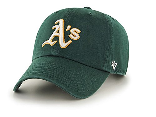47-BRAND-OAKLAND-ATHLETICS-CURVED-BASEBALL-CAP-Clean-Up