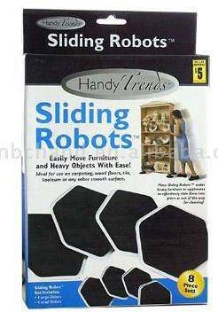 Handy Trends Sliding Robots Furniture Movers ((8 Piece Set)