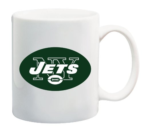 NFL New York Jets logo Coffee Mug Promotional Souvenir 11 Oz at Amazon.com
