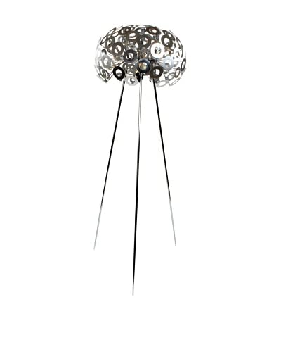 Control Brand The Wish Floor Lamp, Silver