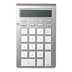 Satechi Bluetooth Wireless Smart Keypad for iMac, MacBook Air, MacBook Pro, MacBook, and Mac Mini