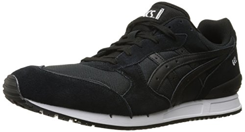ASICS GEL-Classic Retro Running Shoe, Onyx Black/Onyx Black, 9.5 M US