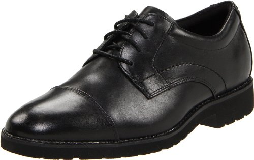 Rockport Men's Oak Circle Captoe Black Shoe K59604  9 UK , 43 EU , 9.5 US