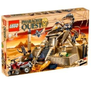 NEW 2011 LEGO PHARAOH'S QUEST # 7327 Scorpion Pyramid 792 pcs