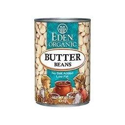 Eden Beans, Butter / Lima OG2 15 oz. (Pack of 12)