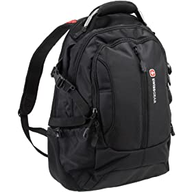 SwissGear 1591 Black with Red Accents Backpack