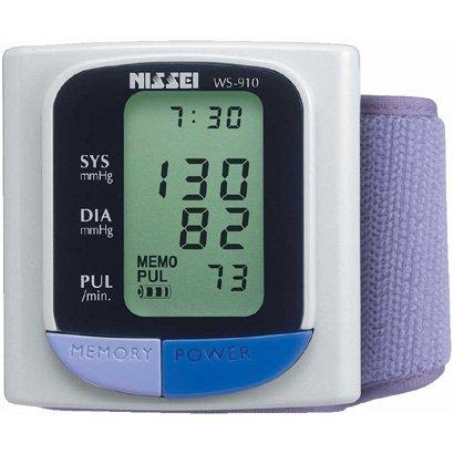 【ツーリスト向け】 NISSEI 手首式血圧計 WS-910 【日本製】