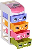 Koochie-Koo Plastic Baby 4 Layer Small Drawer (Multicolor)