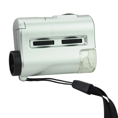 Siam Circus 30-60X Uv Microscope With Led Light/Currency Detecting Light