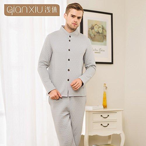 collar-de-parejas-de-invierno-kit-cardigan-homewear-hombres-deporte-y-ocio-aoa-grisl-carpeta-yuxin