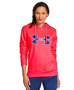 Under Armour Women's UA Storm Armour® Fleece Big Logo Hoodie Extra Small Neo Pulse