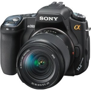 Sony Alpha DSLR-A350 (with 18-70mm Lens)