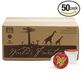 Coffee People Jet Fuel K-Cups for Keurig Brewers (Pack of 50) [Amazon Frustration-Free Packaging]