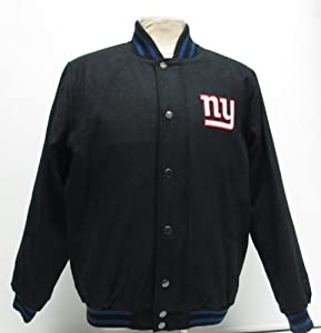 2013 New York Giants Wool Varsity Jacket by NFL