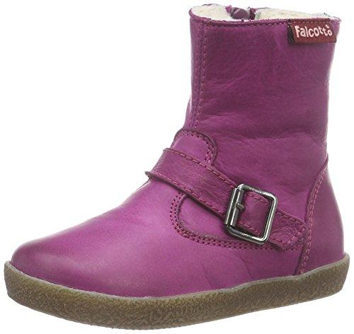 Naturino FALCOTTO 1213, Pantofole primi passi bambina, Viola (Violett (Mirtillo)), 21