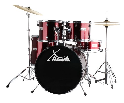 Classic Cantabile Session Semi drums red - On sale now!