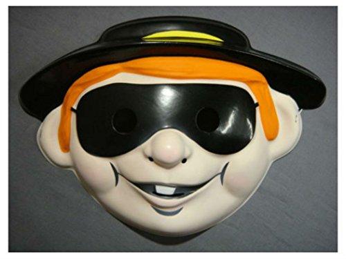 [Ronald Mc DONALDS HAMBURGLAR HALLOWEEN MASK PVC BURGLER] (Ronald Mcdonald Costume)
