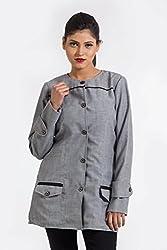 Fbbic Women's Coat (15008_Medium_Grey)