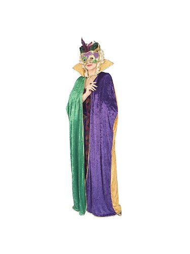 Adult Floor Length Mardi Gras Cape