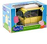 Peppa Pigs Giant Campervan Playset - Peppa Pig Caravan & 4 Character figures