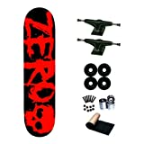 Zero Blood Text 8.125 Skateboard Deck Complete