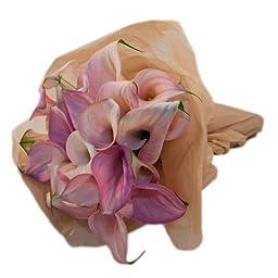 Light Pink Calla Lily Bouqet, Callafornia Callas