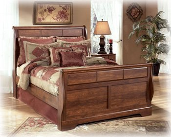 Perfect Queen Size Sleigh Bed by Ashley Furniture