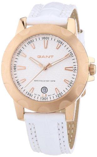 GANT W10964 - Orologio da polso donna, pelle, colore: bianco