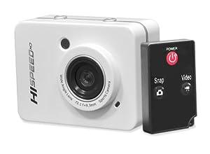 Caméra de Sport Pyle Appareil photo 12,0 Mpix HD 1080P Blanc