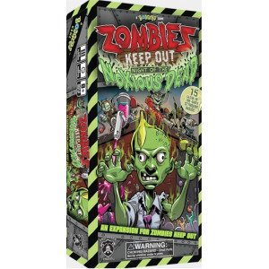 Zombies Keep Out: Night of The Noxious Dead Board Game - 1
