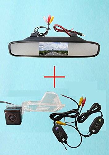 fuway-wireless-ccd-car-rear-view-reverse-camera-per-ford-edge-escape-mercury-mariner-con-43-pollici-