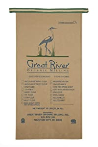Great River Organic Milling, Organic Specialty Millet Flour, 25-Pound Package from Great River Organic Milling