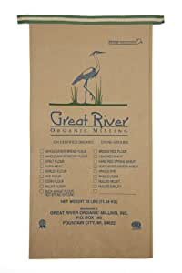 Great River Organic Milling, Organic Whole Grains Corn, 25-Pound Package